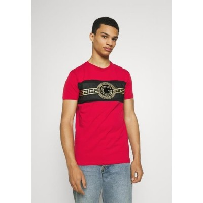 グローリアスギャングスタ メンズ ファッション RAMIO TEE - Print T-shirt - red