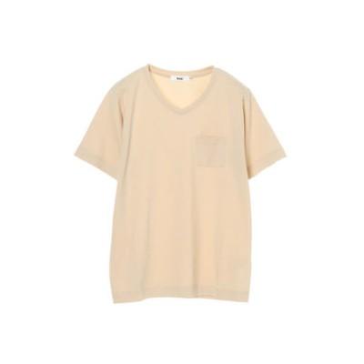 きれいめVネックTシャツ