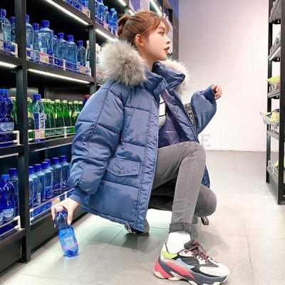 中綿ダウンコートレディース40代ショート軽い秋冬アウター中綿コート中綿ジャケットダウン風コートフード付き厚手暖かい大きいサイズスリム
