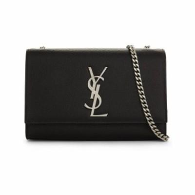 イヴ サンローラン SAINT LAURENT レディース ショルダーバッグ バッグ Kate Monogram leather shoulder bag BLACK