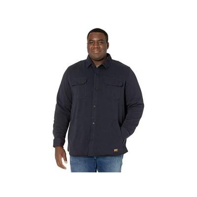 ティンバーランド Extended Mill River Fleece Shirt Jacket メンズ シャツ トップス Dark Navy