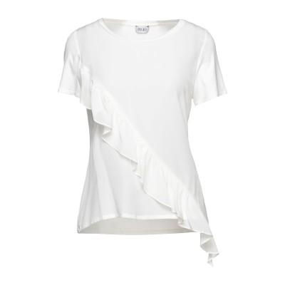 リュー ジョー LIU •JO ブラウス ホワイト S レーヨン 95% / ポリウレタン 5% / シルク ブラウス