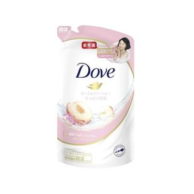 Dove(ダヴ) ボディウォッシュ ボディソープ ピーチ&スイートピー 詰替え用 360g