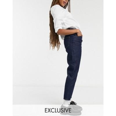 リクレイム ヴィンテージ Reclaimed Vintage レディース ジーンズ・デニム Inspired The '91 Mom Jean With Button Front In Indigo インディゴブルー