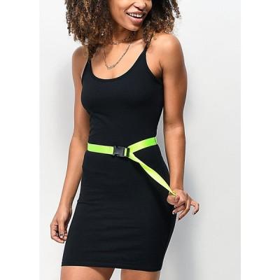 ナインス ホール NINTH HALL レディース ワンピース ワンピース・ドレス Ninth Hall Libby Black Belted Dress Black