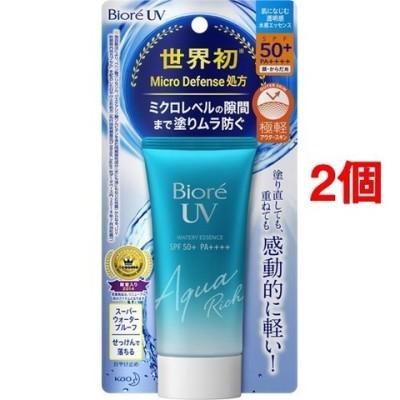 ビオレ UV アクアリッチ ウォータリーエッセンス (50g*2個セット)