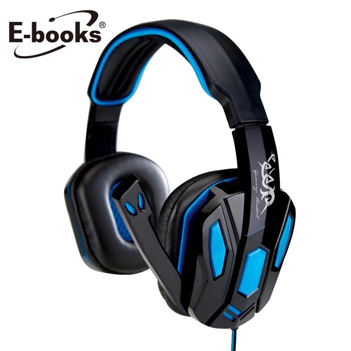 E-books S42 電競頭戴耳機麥克風【破盤品】