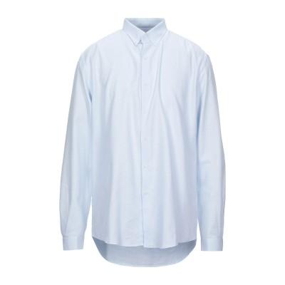 LIU •JO MAN シャツ スカイブルー 44 コットン 100% シャツ