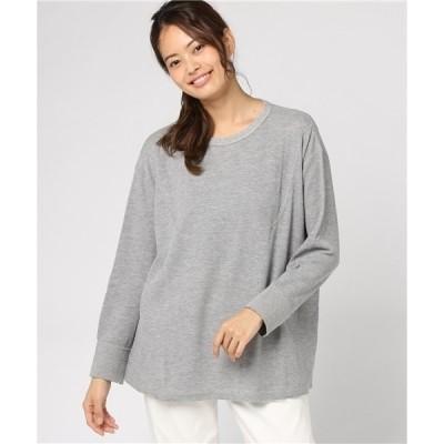 tシャツ Tシャツ ワッフル切り替えカットソー ムジ(160・170cm)