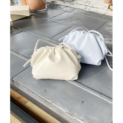 Heather / ギャザーミニショルダー 958030 WOMEN バッグ > ショルダーバッグ