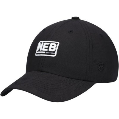 ユニセックス スポーツリーグ アメリカ大学スポーツ Nebraska Cornhuskers Top of the World Broadcast Adjustable Hat - Black - OSFA