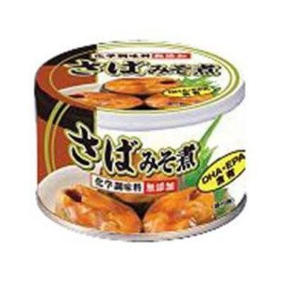 富永貿易 さば 味噌煮 缶詰 150g×24缶【1ケース】