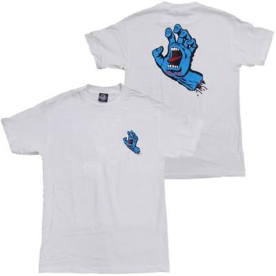 SANTA CRUZ・サンタクルーズ・SCREAMING HAND・ホワイト・Tシャツ