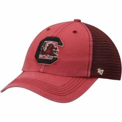 47 フォーティーセブン スポーツ用品  47 Brand South Carolina Gamecocks Garnet Trailway Closer Flex Hat