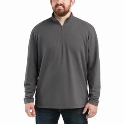 ウルヴァリン その他トップス Benton Quarter Zip Long Sleeve Shirt Granite