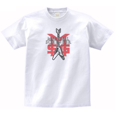 MICHAEL SCHENKER 音楽・ロック・シネマ Tシャツ