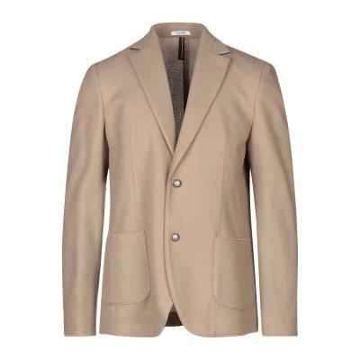 OFFICINA 36 テーラードジャケット カーキ 48 ポリエステル 57% / アクリル 39% / ウール 4% テーラードジャケット