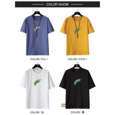 半袖Tシャツ メンズ Tシャツ カットソー 半袖 ティーシャツ プリントTシャツ カジュアル 夏 夏物