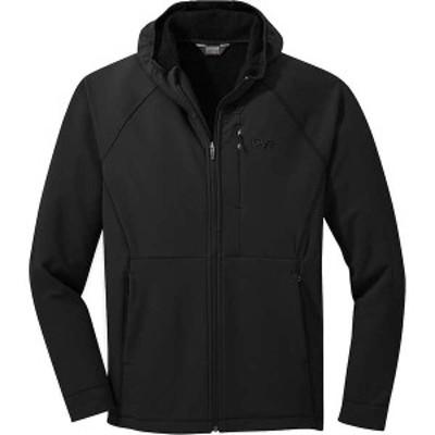 アウトドアリサーチ メンズ ジャケット・ブルゾン アウター Outdoor Research Men's Georgetown Hooded Jacket Black
