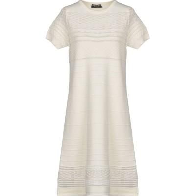 ツインセット シモーナ バルビエリ TWINSET ミニワンピース&ドレス アイボリー XS 65% レーヨン 35% ポリエステル ミニワンピース