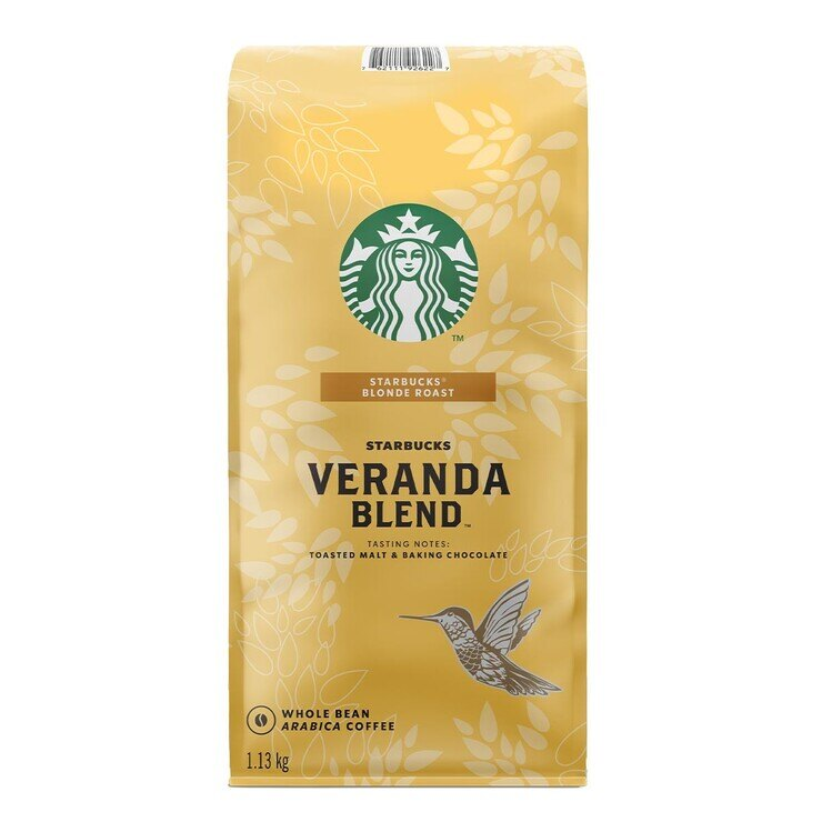 STARBUCKS 黃金烘焙 綜合咖啡豆 (1130g/包)