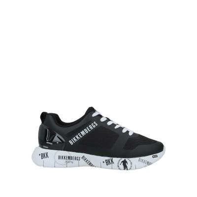 ビッケンバーグ BIKKEMBERGS スニーカー&テニスシューズ(ローカット) ブラック 40 紡績繊維 スニーカー&テニスシューズ(ローカット)