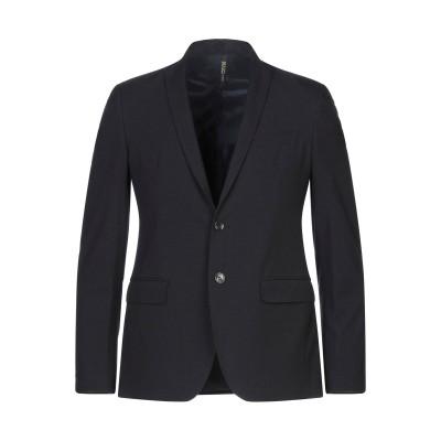 LIU •JO MAN テーラードジャケット ブラック 46 ポリエステル 65% / レーヨン 33% / ポリウレタン 2% テーラードジャケット