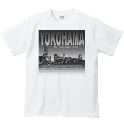 横浜の夜景(みなとみらい)/半袖Tシャツ