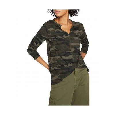 Sanctuary サンクチュアリ レディース 女性用 ファッション Tシャツ Long Sleeve Ives Tee - Forest Camo