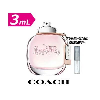 [3.0mL] COACH コーチ ニューヨーク オードトワレ 3.0mL * お試し 香水 ブランド アトマイザー ミニ サンプル