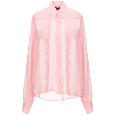 JEJIA シャツ ピンク 46 シルク 100% シャツ