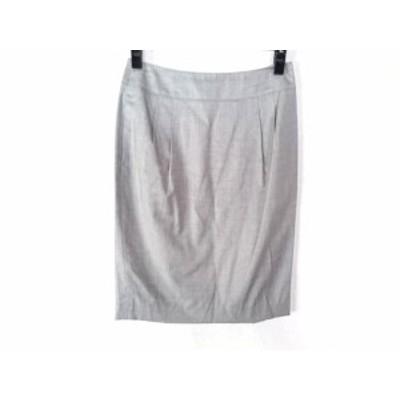 トゥモローランド TOMORROWLAND スカート サイズ36 S レディース ライトグレー collection【還元祭対象】【中古】