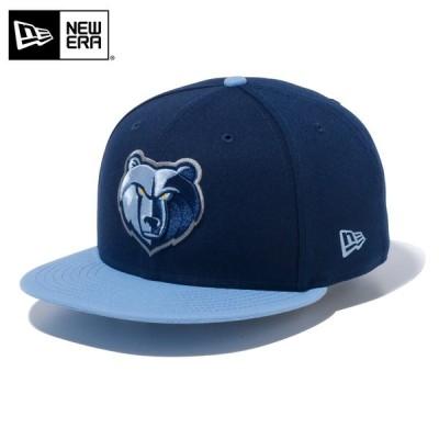 【メーカー取次】 NEW ERA ニューエラ 9FIFTY メンフィス・グリズリーズ ネイビーXライトブルー 12492816 キャップ NBA 帽子 ブランド【クーポン対象外】【T】