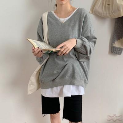 パーカー レディース ショート丈 プルオーバーパーカー パーカー 可愛い パーカー ゆったり 体型カバー Tシャツ カジュアル おしゃれ 大きいサイズ