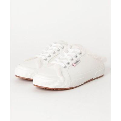 atmos pink / SUPERGA 2402-WP COTFUR W (WHITE) WOMEN シューズ > スニーカー