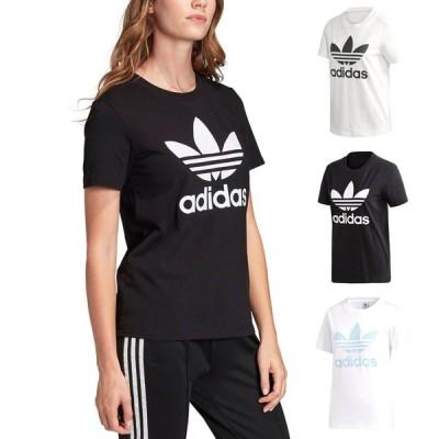 アディダス オリジナルス adidas originals レディース Tシャツ 半袖 ロゴ トレフォイルTシャツ ブランド 女性用 白 黒 ML TOREFOIL TEE FM3293 FM3311 FM3306