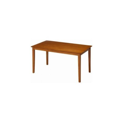 不二貿易 ダイニングテーブル スノア 120×75 ライトブラウン メーカー直送 代引不可 北海道沖縄離島不可
