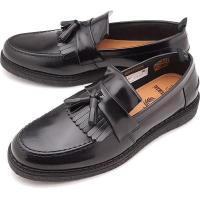 FRED PERRY フレッドペリー スニーカー 靴 FP × GEORGE COX TASSEL LOAFER LEATHER ジョージコックス タッセル ローファー レザー B8278-102 SS18