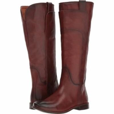 フライ Frye レディース ブーツ シューズ・靴 Paige Tall Riding Redwood Smooth Vintage Leather