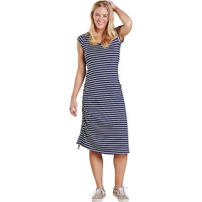 トードアンドコー ワンピース レディース トップス Toad & Co Women's Samba Muse Dress True Navy Balanced Stripe