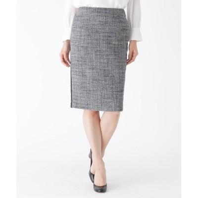 Modify(モディファイ) サイドラインツイードタイトスカート