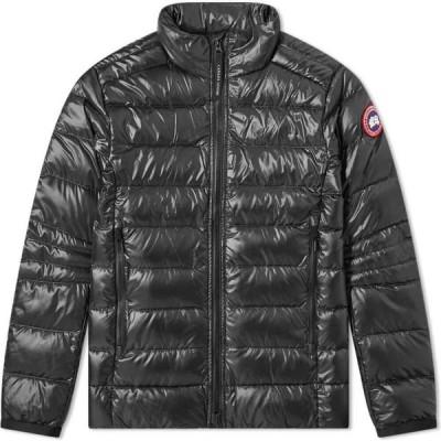 カナダグース Canada Goose メンズ ジャケット アウター crofton jacket Black