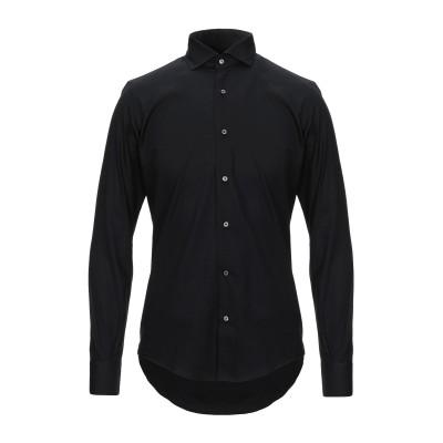 タケシ クロサワ TAKESHY KUROSAWA シャツ ブラック 39 コットン 100% シャツ