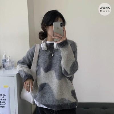 レディース ニット/セーター kn3222 reno round sweater