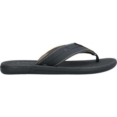 カルタゴ CARTAGO メンズ ビーチサンダル シューズ・靴 Flip Flops Black