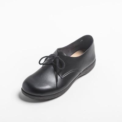 マニッシュ ローファー レディースシューズ パンプス オブリークトゥ 幅広 日本製 カジュアル 黒 歩きやすい 痛くない 黒