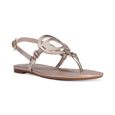 コーチ サンダル シューズ レディース Women's Jeri Leather Sandals Champagne