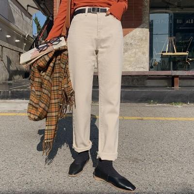 111546モーエンデイリー日ピットコットンロングパンツ[ontheriver] 送料0円! 大人可愛いデイリールック。韓国ファッションNo.1