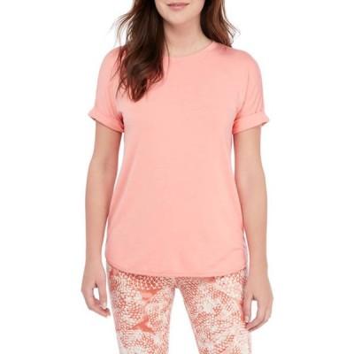 ウァンダリイ レディース Tシャツ トップス Studio Women's Short Sleeve Baby Terry Crew Neck T-Shirt