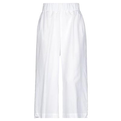 ファビアナフィリッピ FABIANA FILIPPI パンツ ホワイト 38 コットン 65% / シルク 35% パンツ